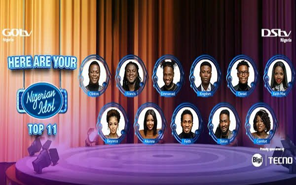 Nigerian Idol (Vote for your favorite contestants)
